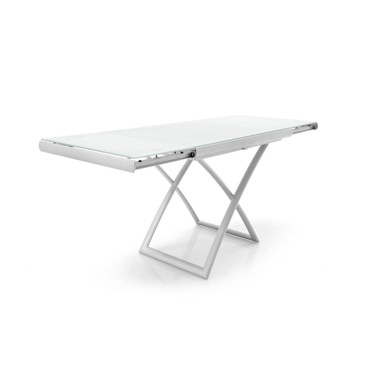Tavolo Pieghevole E Allungabile.Dakota Tavolino Pieghevole E Allungabile Spazio Ingegno Torino